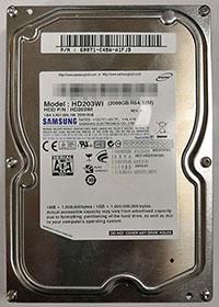 Samsung HD203WI